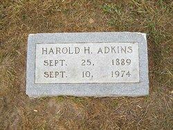Harold Horace Adkins