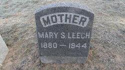 Mary S <i>Harman</i> Leech