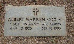 Albert Warren Cox, Sr