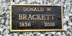 Donald W. Brackett