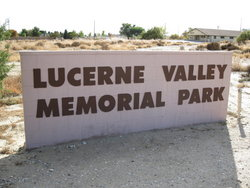 Lucerne Valley Memorial Park