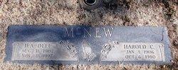 Harold C McNew