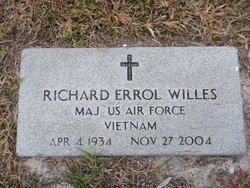 Maj Richard Errol Willes