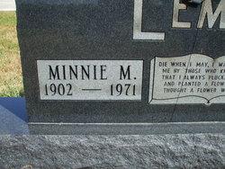 Minnie M. <i>Yarian</i> Lemler