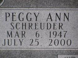 Peggy Ann <i>Schreuder</i> Schlaefli