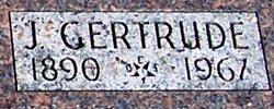 Jennie Gertrude Gertrude <i>Chesney</i> Blackstone