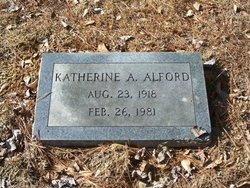 Katherine Elizabeth <i>Ammons</i> Alford