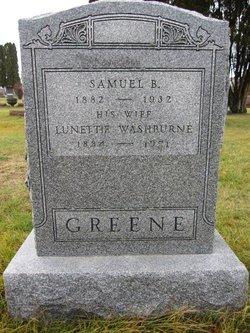 Lunettie <i>Washburne</i> Greene