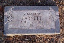 G. Maxine Maxine <i>Strickland</i> Barnett