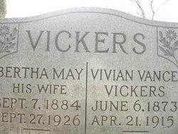 Vivian vance vickers 1873 1915 find a grave memorial