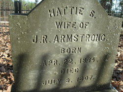 Hattie S. <i>Baugh</i> Armstrong