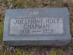 Josphine Virginia Dean <i>Holt</i> Chapman