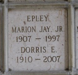 Dorris Glenn <i>Ervin</i> Epley