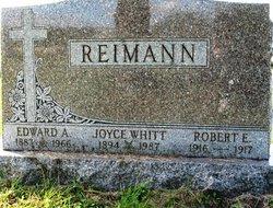 Joyce Lucille <i>Whitt</i> Reimann