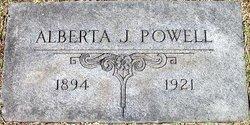 Alberta Edna <i>Jennings</i> Powell