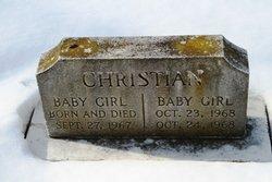 Baby Girl Christian