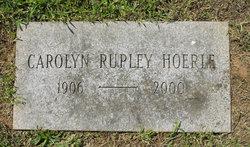 Carolyn <i>Rupley</i> Hoerle