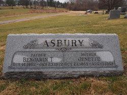 Benjamin T Asbury