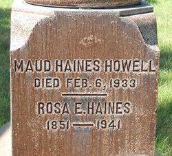 Maud <i>Haines</i> Howell