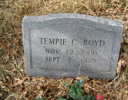Tempie C. Boyd