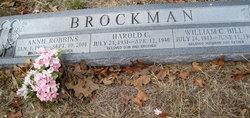 Annie Mae <i>Robbins</i> Brockman