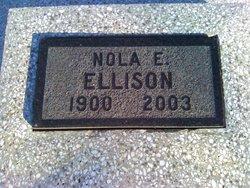 Nola E. <i>Morehead</i> Ellison
