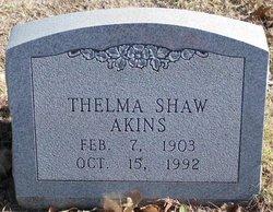 Martha Thelma <i>Shaw</i> Akins