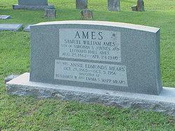 Sarah Annie Edmonds <i>Mears</i> Ames