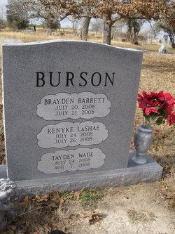 Tayden Wade Burson