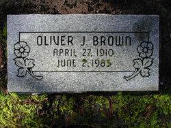 Oliver J Brown