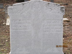 Sarah J. <i>Miller</i> Addington