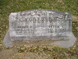 Bessie E <i>Thompson</i> Anderson