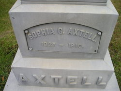 Sophia G Axtell