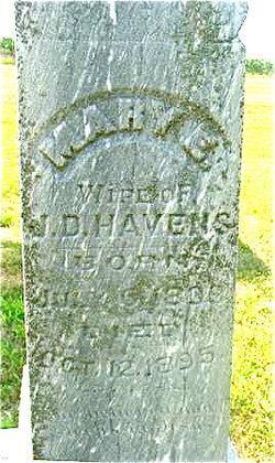 Mary E. <i>Streeter</i> Havens