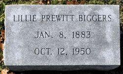 Lillie <i>Prewitt</i> Biggers