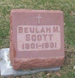 Beulah M. Scott