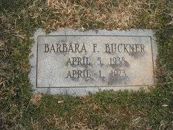Barbara Frankee <i>Rosen</i> Buckner
