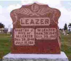 Martha Jane <i>Boyer</i> Leazer