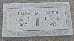 Thelma Bell <i>Gilges Hall</i> Botkin