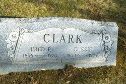 Fred P Clark