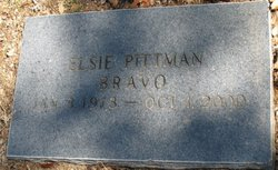 Elsie <i>Pittman</i> Bravo
