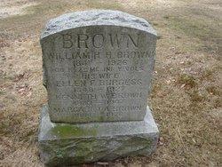 Ellen F <i>Burgess</i> Brown