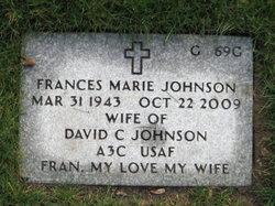 Frances Marie Fran Johnson