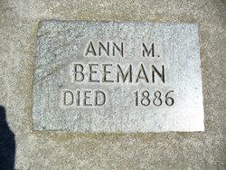 Ann M <i>Summers</i> Beeman