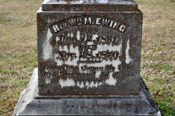 Rev William M Ewing