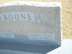 Harriet Onice Boone