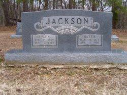 Hattie Annie <i>Parrott</i> Jackson