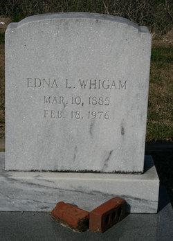 Edna <i>Lancaster</i> Whigham