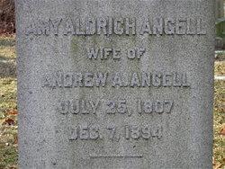 Amy <i>Aldrich</i> Angell