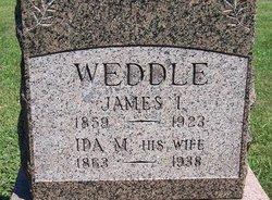 Ida May <i>Gordon</i> Weddle